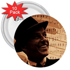 Frank Sinatra  3  Buttons (10 pack)