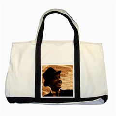 Frank Sinatra  Two Tone Tote Bag
