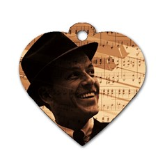 Frank Sinatra  Dog Tag Heart (Two Sides)