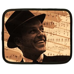 Frank Sinatra  Netbook Case (Large)