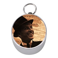 Frank Sinatra  Mini Silver Compasses