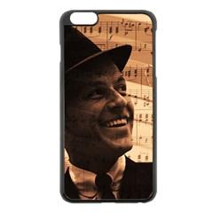 Frank Sinatra  Apple iPhone 6 Plus/6S Plus Black Enamel Case