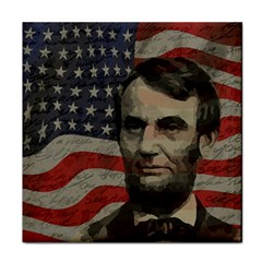 Lincoln day  Tile Coasters