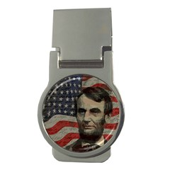 Lincoln day  Money Clips (Round)