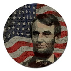 Lincoln day  Magnet 5  (Round)