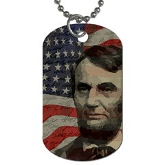 Lincoln day  Dog Tag (One Side)