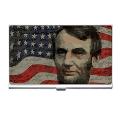 Lincoln day  Business Card Holders