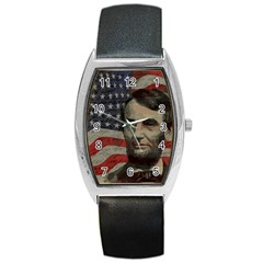 Lincoln day  Barrel Style Metal Watch