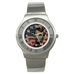 Lincoln day  Stainless Steel Watch