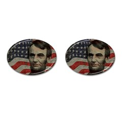 Lincoln day  Cufflinks (Oval)