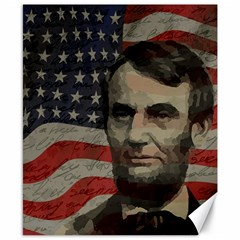 Lincoln day  Canvas 8  x 10