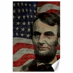 Lincoln day  Canvas 24  x 36