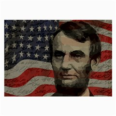 Lincoln day  Large Glasses Cloth (2-Side)