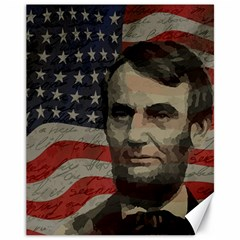 Lincoln day  Canvas 11  x 14