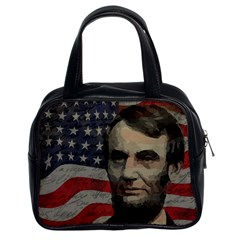 Lincoln day  Classic Handbags (2 Sides)