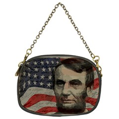 Lincoln day  Chain Purses (Two Sides)