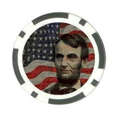 Lincoln day  Poker Chip Card Guard (10 pack)