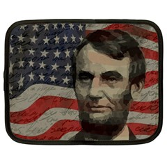 Lincoln day  Netbook Case (XXL)