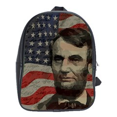 Lincoln day  School Bags(Large)