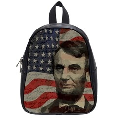 Lincoln day  School Bags (Small)