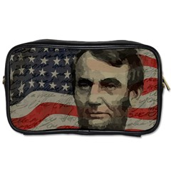 Lincoln day  Toiletries Bags 2-Side