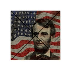 Lincoln day  Acrylic Tangram Puzzle (4  x 4 )
