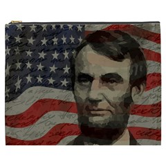 Lincoln day  Cosmetic Bag (XXXL)