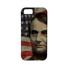 Lincoln day  Apple iPhone 5 Classic Hardshell Case (PC+Silicone)