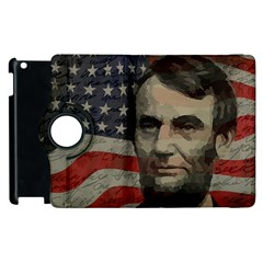 Lincoln day  Apple iPad 3/4 Flip 360 Case