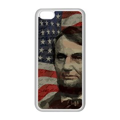 Lincoln day  Apple iPhone 5C Seamless Case (White)