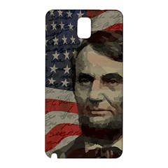 Lincoln day  Samsung Galaxy Note 3 N9005 Hardshell Back Case