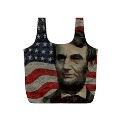 Lincoln day  Full Print Recycle Bags (S)
