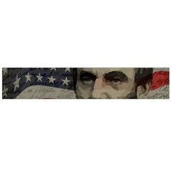 Lincoln day  Flano Scarf (Large)