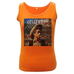 James Dean   Women s Dark Tank Top