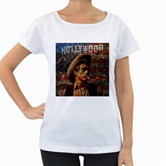 James Dean   Women s Loose-Fit T-Shirt (White)