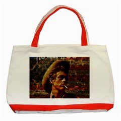 James Dean   Classic Tote Bag (Red)