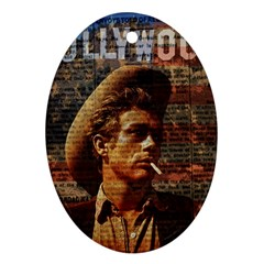 James Dean   Oval Ornament (Two Sides)