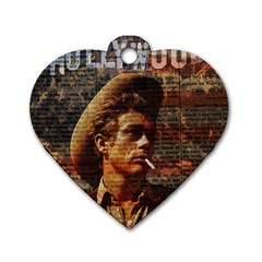 James Dean   Dog Tag Heart (One Side)