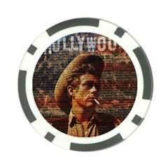 James Dean   Poker Chip Card Guard (10 pack)
