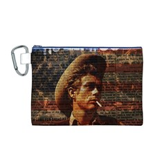 James Dean   Canvas Cosmetic Bag (M)