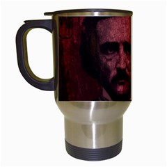 Edgar Allan Poe  Travel Mugs (White)