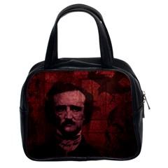 Edgar Allan Poe  Classic Handbags (2 Sides)