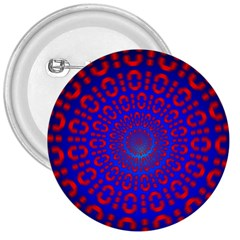 Binary Code Optical Illusion Rotation 3  Buttons
