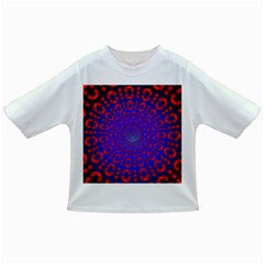 Binary Code Optical Illusion Rotation Infant/toddler T Shirts