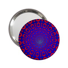 Binary Code Optical Illusion Rotation 2 25  Handbag Mirrors