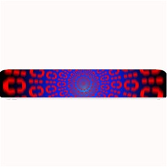 Binary Code Optical Illusion Rotation Small Bar Mats
