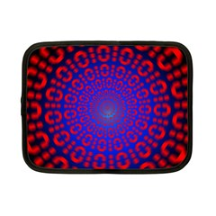 Binary Code Optical Illusion Rotation Netbook Case (small)