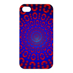 Binary Code Optical Illusion Rotation Apple iPhone 4/4S Hardshell Case