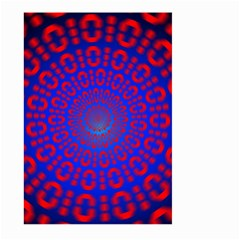 Binary Code Optical Illusion Rotation Large Garden Flag (Two Sides)