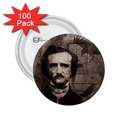 Edgar Allan Poe  2.25  Buttons (100 pack)